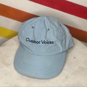 Outdoor voices San Francisco nylon hat